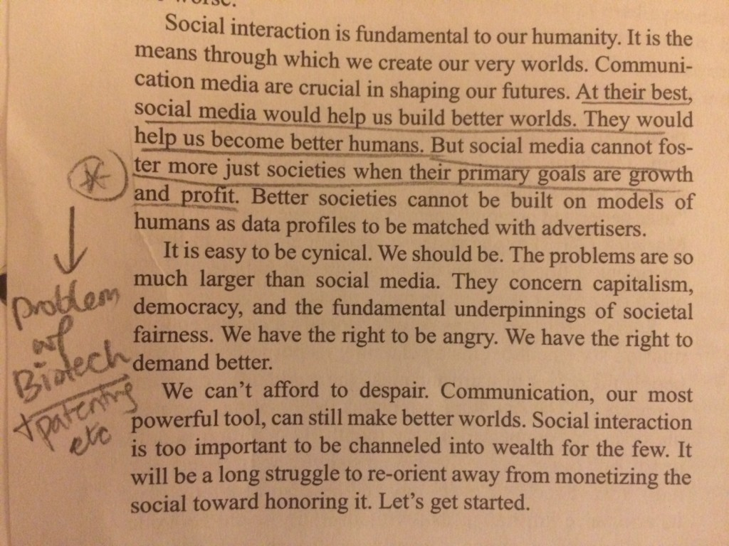 Social Media or Biotechnology