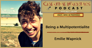 http://creativewarriorsunite.com/emilie-wapnick-being-a-multipotentialite/